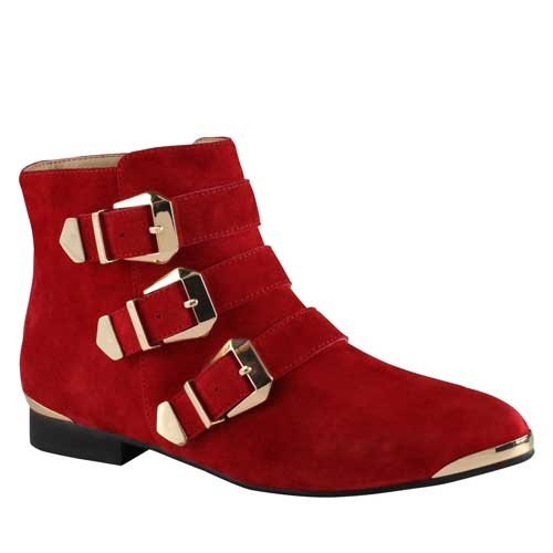 ALDO Women's Flat Boots 2013 these are different I like them.