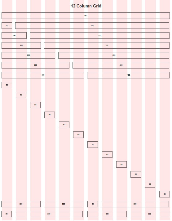 960 Grid System Grid Web Design Online Web Design Portfolio Web Design