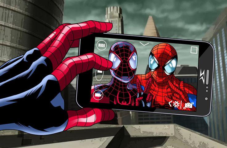 Spider Selfie by JonathanPiccini-JP.deviantart.com on @DeviantArt