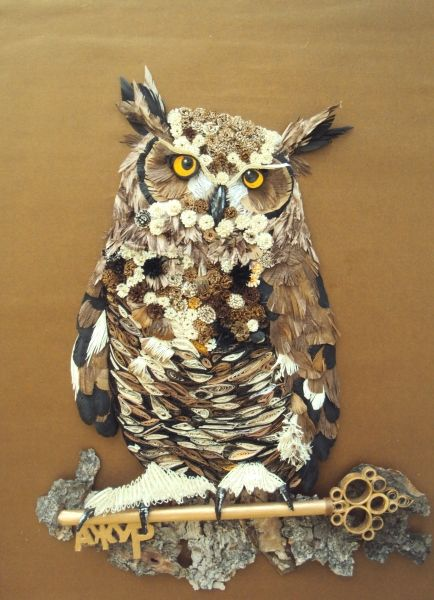 Quilling Cafe -- Added by Maria Cvetanova on October 2, 2012     AMAZING!