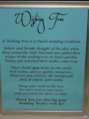 Wishing tree-- A Dutch Wedding Tradition. Raleigh Wedding Blog