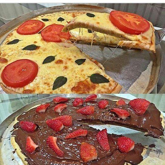 """415 curtidas, 11 comentários - Anuncie sua loja aqui (@estilomulhervirtuosa) no Instagram: """"Não é hora de pizza, but fica dica pro findi 🍕 . ・・・ Pizza de quinoa, sem farinha Apenas 5…"""""""