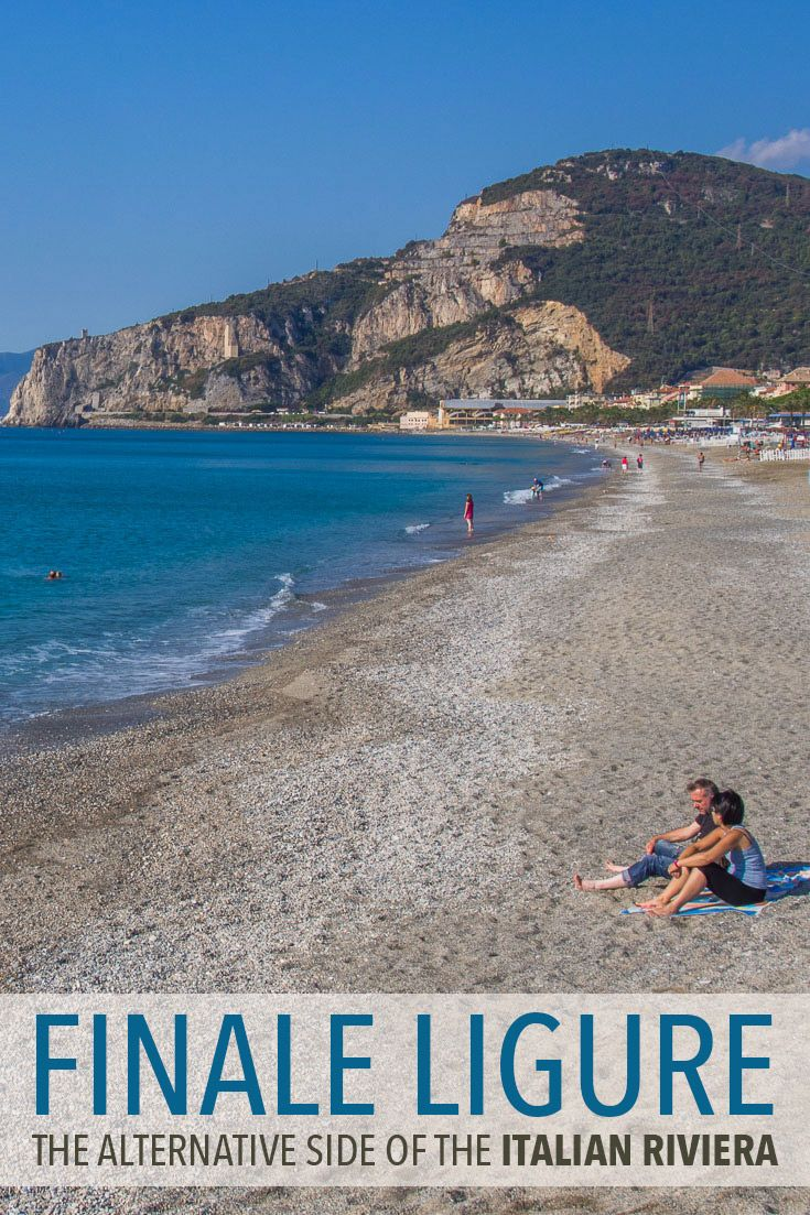 Get off the beaten track on the Italian Riviera in Finale Ligure. Few foreigners visit this town, which is a shame as it has a long sandy beach, beautiful medieval village, great food, and lower prices than the more popular parts of the Riviera.