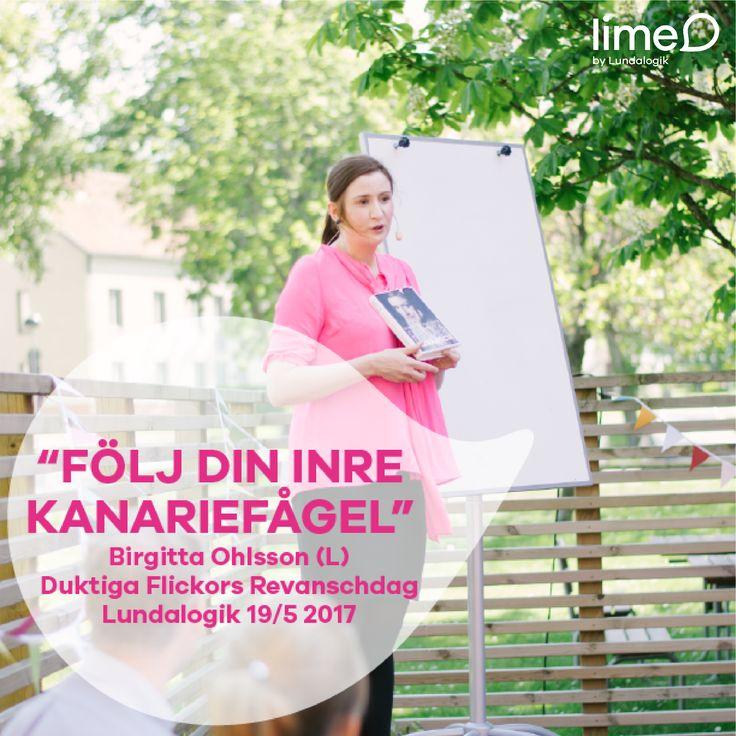 Social media graphics | Duktiga Flickors Revanschdag, ett event som Lundalogik ordnade i samarbete med Birgitta Ohlsson (L) efter att hon i sin bok Duktiga Flickors Revansch uppmärksammade Lundalogik som ett företag som är smart nog att ta vara på sina duktiga flickor | Maj 2017