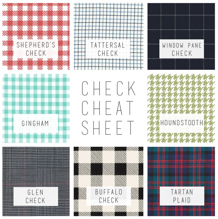 Shepherds Plaid Pattern Play Gingham Sheets Houndstooth