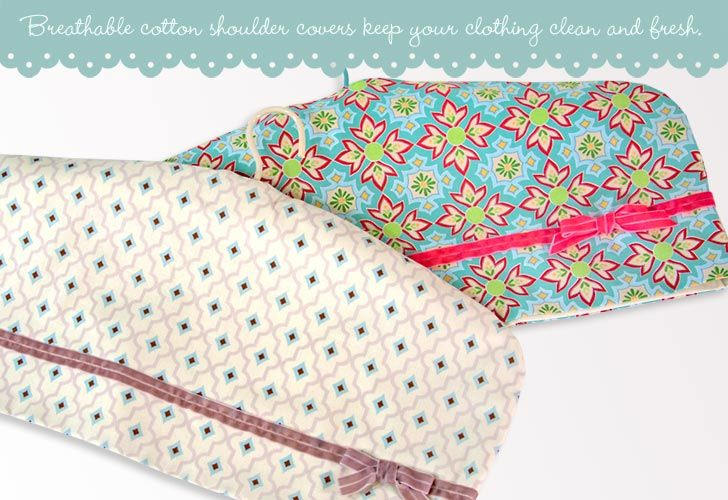 Vintage Shoulder Dust Covers tutorial & pattern..I so need some of these ; )