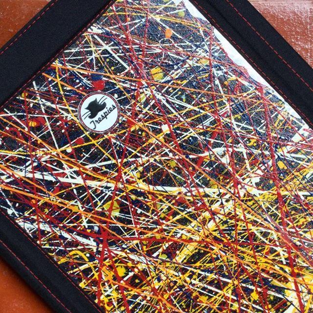 Carpetas Galería Abstracta Lluvia de estrellas (detalle) Trespies  #trespies #galeriaabstracta #carpeta #folder #painting #abstract #art #pinturadetriunfoarciniegas