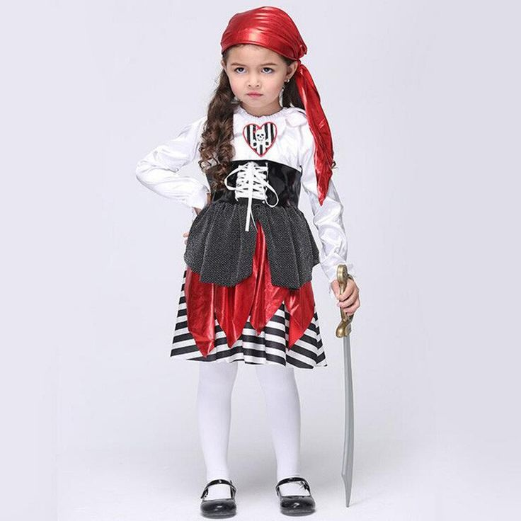 Summer Girls Halloween Party - Pirate Dance Dress