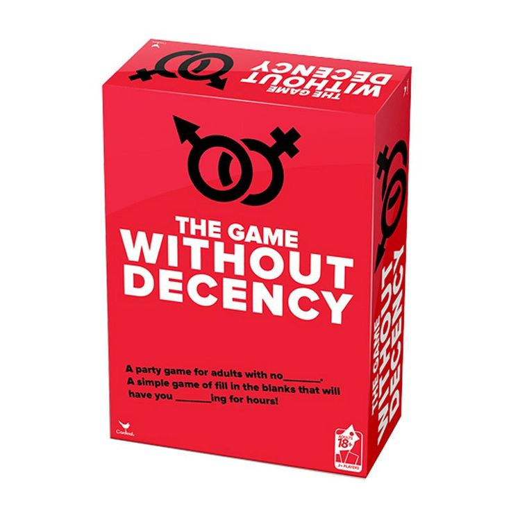Cardinal The Game Without Decency Party Game, Multicolor