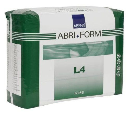 Abena Abri-Form Briefs, X-Plus, Large, Case/36 (3/12s) by Abena. $58.19. The Abena Abri-Form fitted briefs are one of the leading adult diapers in Europe and are known for their high quality and super absorbency. Abena makes the Abri-Form briefs in four different absorbency levels. This product is the X-Plus absorbency which is the most absorbent brief by Abena. Abena Abri-Form provides all-around protection with absorbent protection zones extending to the sides in both front and...