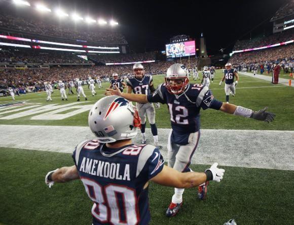 Danny great TD!! Brady loves it...