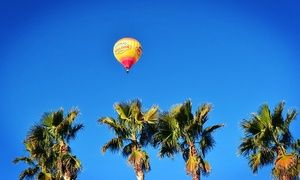 Groupon - Sunrise Hot-Air Balloon Ride for One or Two from Vegas Balloon Rides (Up to 45% Off). Four Options Available. in Las Vegas. Groupon deal price: $161