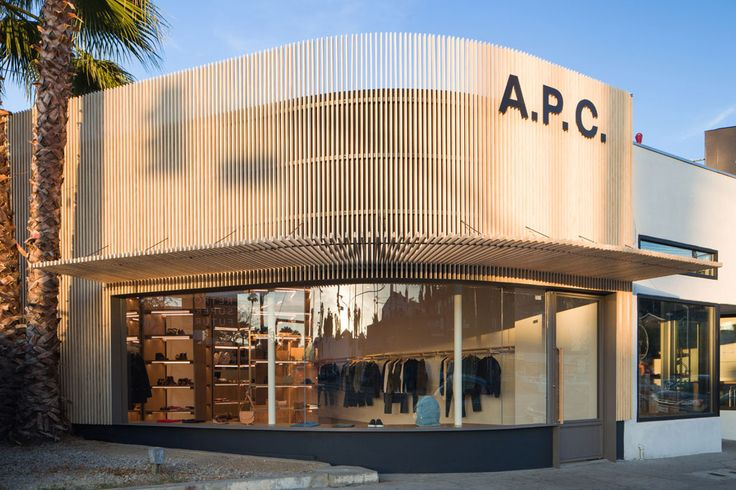 New A.P.C Fashion Store