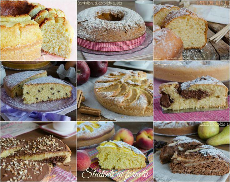 Ciambelle e torte per colazione e merenda di bambini per il ritorno a scuola, dolci facili, golosi, soffici e veloci da preparare.