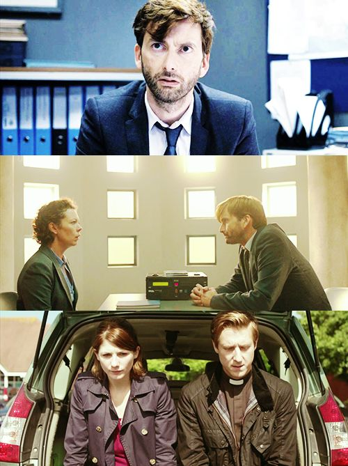 ITV's Broadchurch... one of the best crime dramas I've seen in ages.