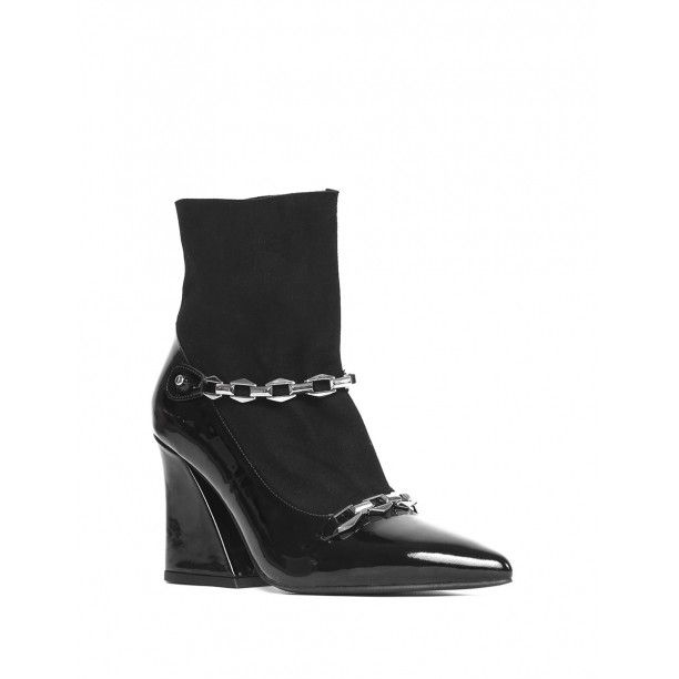 Pupsi Bayan Topuklu Bot Siyah Rugan Siyah Suet Siyahrugan Siyahsuet Kiyafet Ve Aksesuarlar Ayakkabilar Lidyana Ayakkabi Ilvi In 2020 Boots Shoes Wedge Boot