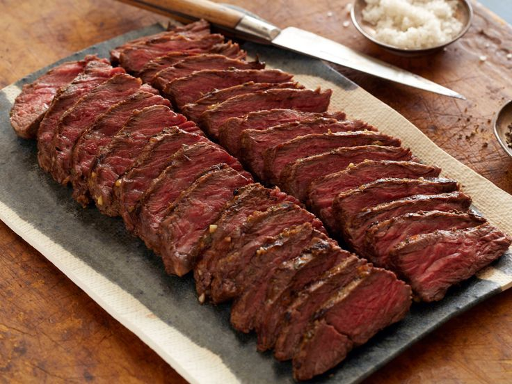 Marinated Grilled Hanger Steak from FoodNetwork.com