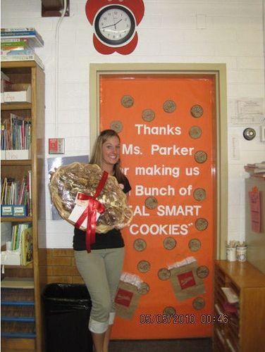 mrs. fields, teacher appreciation - Google Search