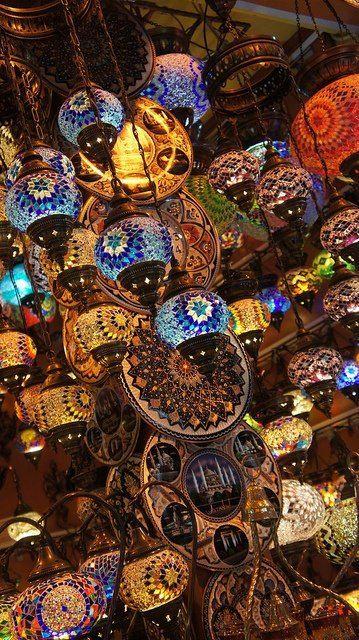 moroccan lamps #moroccan #inspiration #argan