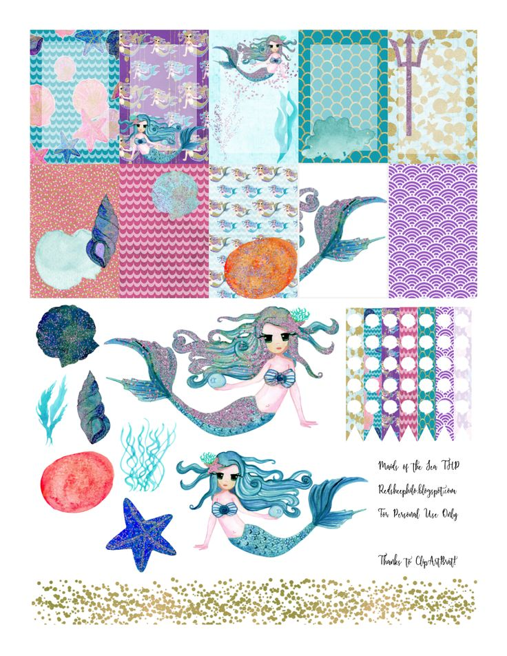 RedSheep Prints: Free Sealife Printable