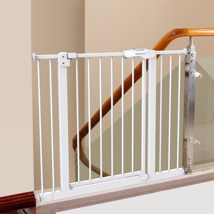 Extra Wide Metal Baby Gates Stairs Safety Indoor ...