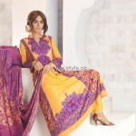 Firdous Cloth Mills Winter 2012 New Dresses for Women 010