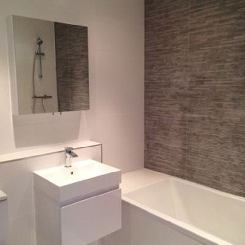 17 best images about bathroom on pinterest grey tiles for Topps tiles bathroom ideas
