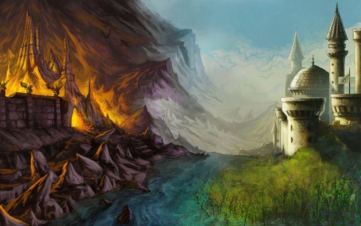 evil landscape background - photo #26