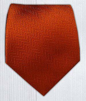 Herringbone - Burnt Orange || Ties - Wear Your Good Tie. Every Day - Herringbone - Burnt Orange Ties