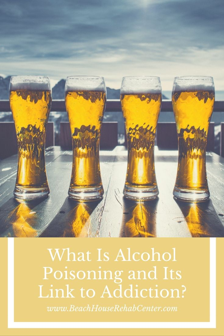 Every day an average of six people in the United States die from alcohol poisoning by overdosing on the substance, according to the Centers for Disease Control. Alcohol poisoning happens when alcohol concentration in the blood becomes toxically high and leads to dangerous and even life-threatening symptoms and complications.