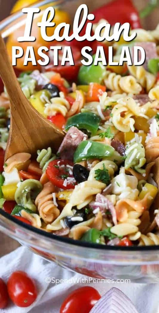 Italian pasta salad is one of my favorite cold pasta salad dishes!  Fresh and …   – Essen selber machen