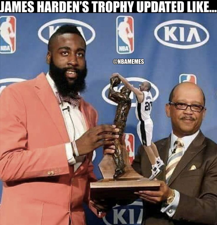 RT @NBAMemes: James Harden's trophy updated like... #RocketsNation #SpursNation - http://nbafunnymeme.com/nba-funny-memes/rt-nbamemes-james-hardens-trophy-updated-like-rocketsnation-spursnation