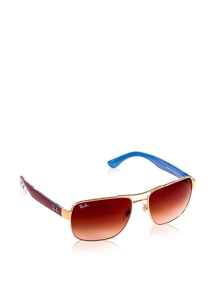 Ray-Ban Sonnenbrille MOD. 3530 (58 mm) goldfarben bei Amazon BuyVIP