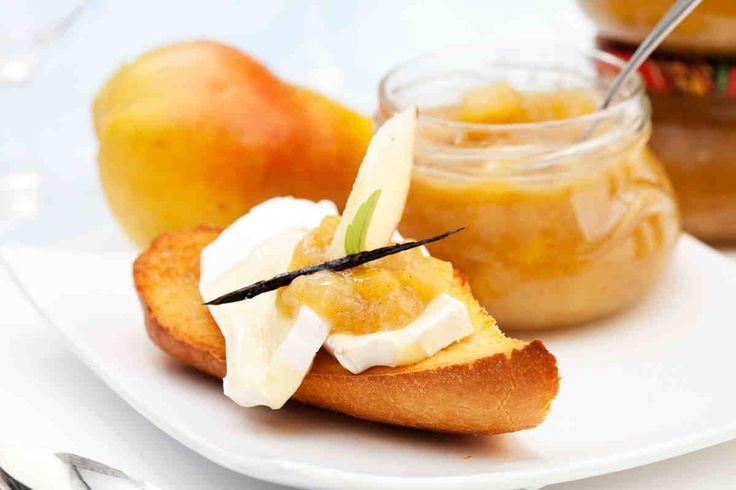 Konfitura z gruszek i karmelu o aromacie wanilii #smacznastrona #poradyTesco #przepisyTesco #konfitura #gruszki #karmel #sweet #yum