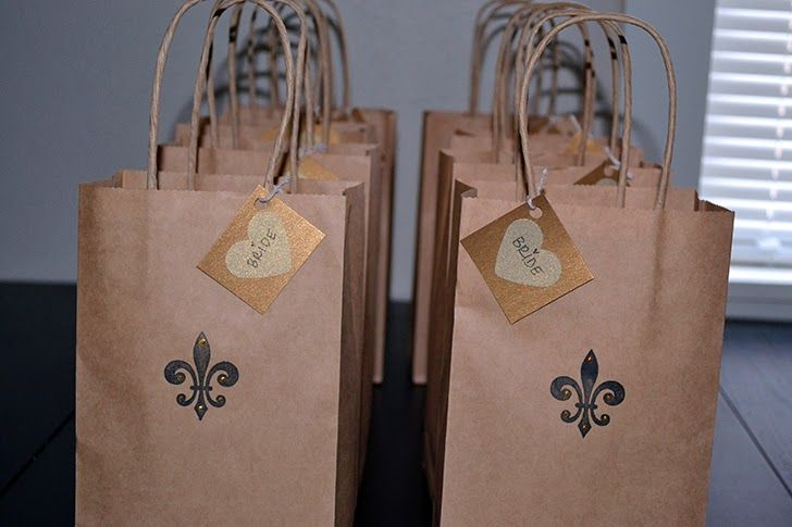 New Orleans Gift bags {Bridesmaid Chronicles} The Bachelorette Party