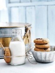 Chocolate-chip gingerbread cookies - recipe
