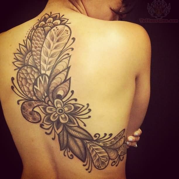 Flower Tattoos Designs Ideas And Meaning: Paisley Tattoo Designs For Women