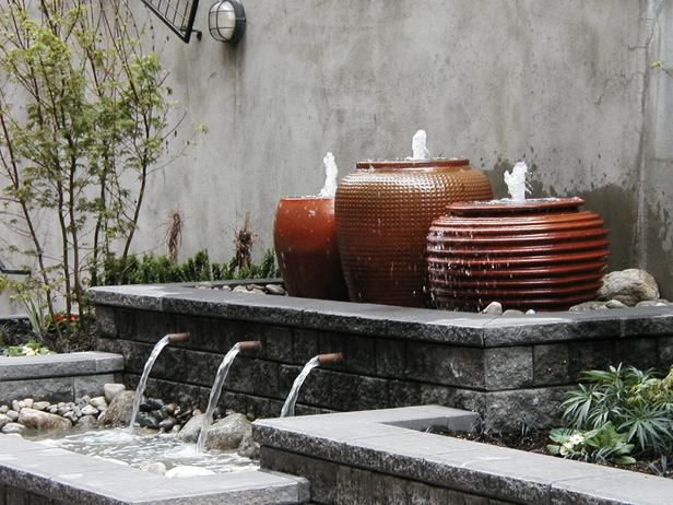 Soothing Water Feature | Water Feature | Falling Water Design : Garden Galleries : HGTV - Home & Garden Television