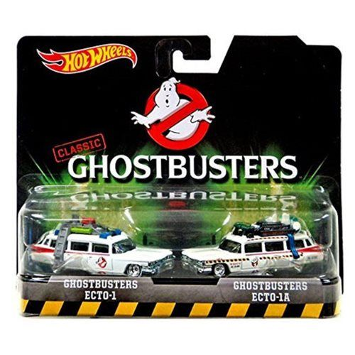 Hot Wheels Retro Series Ghostbusters Die-Cast Vehicle 2-Pack - Mattel - Ghostbusters - Vehicles: Die-Cast at Entertainment Earth