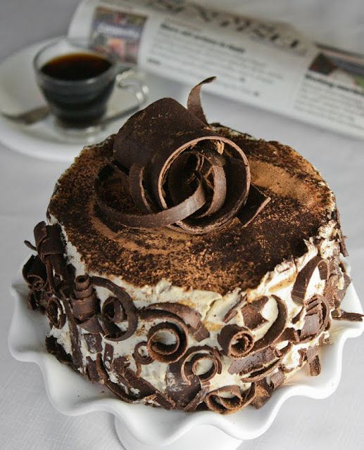 """Tiramisu- this is on this board because of the """" make from scratch"""" elements. Go for it! Looks Delish."""