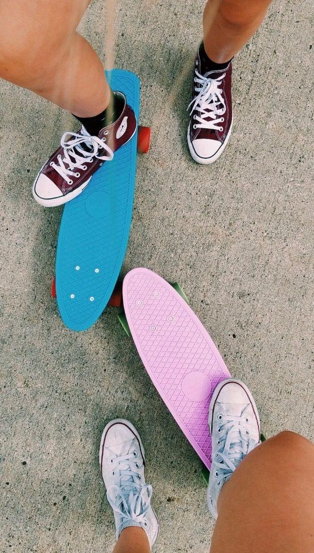 Pinterest Wifi0n Summer Aesthetic Skateboard Girl