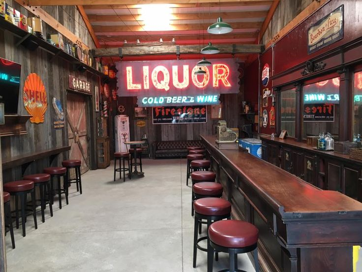 Ultimate Man Cave Bar Using Reclaimed Barn Wood Siding