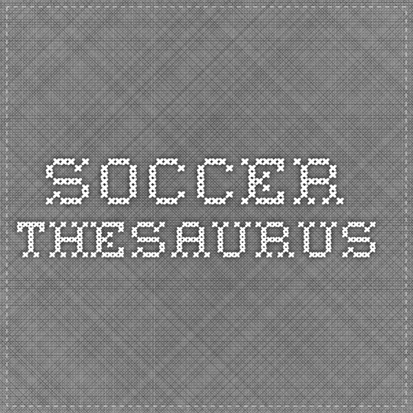 Soccer Thesaurus