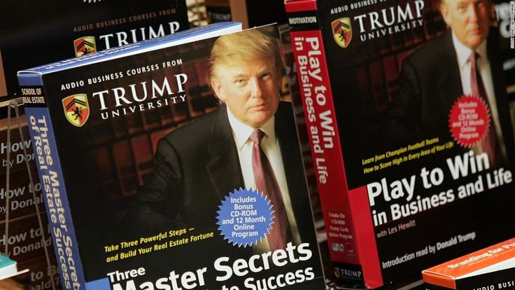 Who really won the Trump University settlement? - http://smartemail1.eu/news/who-really-won-the-trump-university-settlement/  To read more on this topic Click Here