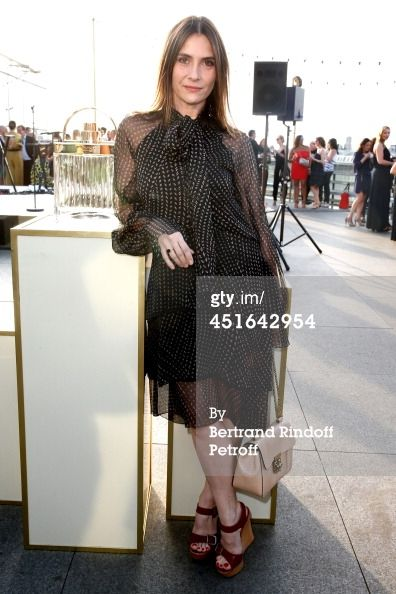 Actress Geraldine Pailhas attends the launching of Chloe new Perfume... News Photo 451642954