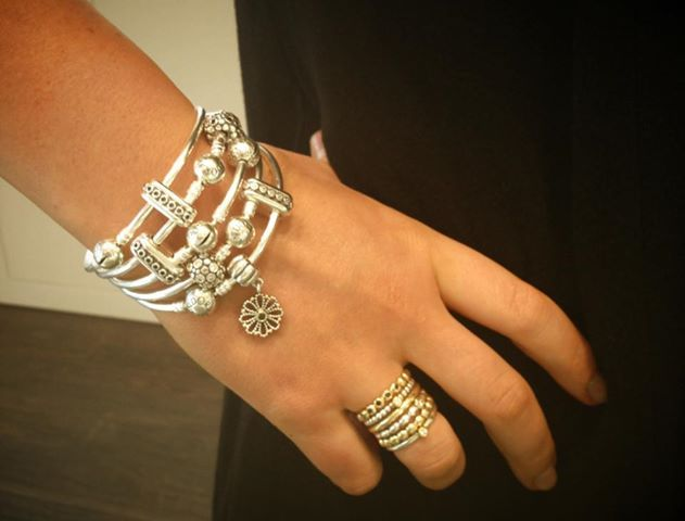 Stack The New Pandora Bangles For A Super Cute Summer Look
