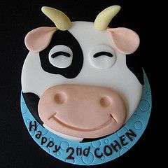 Cow cake, obviously without the horns!