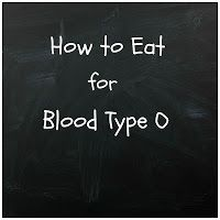 Eating for Blood Type O