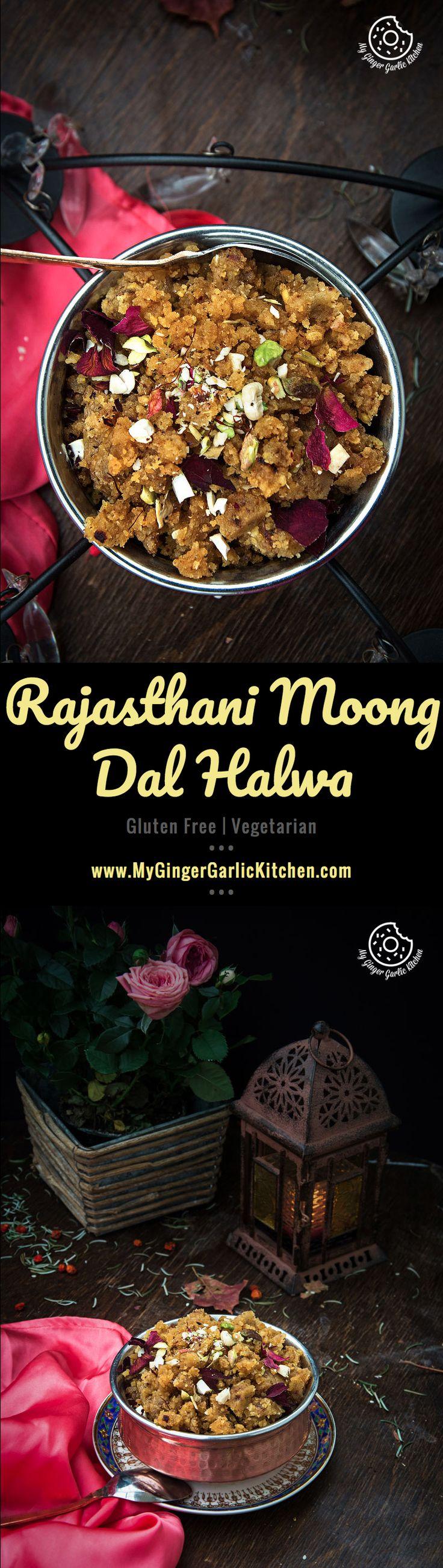 Rajasthani Moong Dal Halwa | mygingergarlickitchen.com/ @anupama_dreams