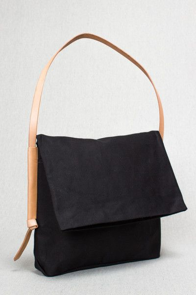 Open Ended Bag in Black by Open Habit - Beam & Anchor